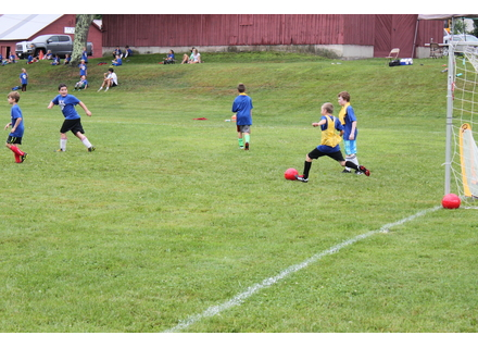 The Deerfield Valley Soccer Camp has returned for its 31st year.  Campers have been honing their skills at Hayford Field in Wilmington throughout the week.